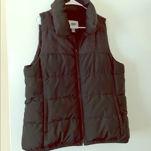 Old navy green puffy vest